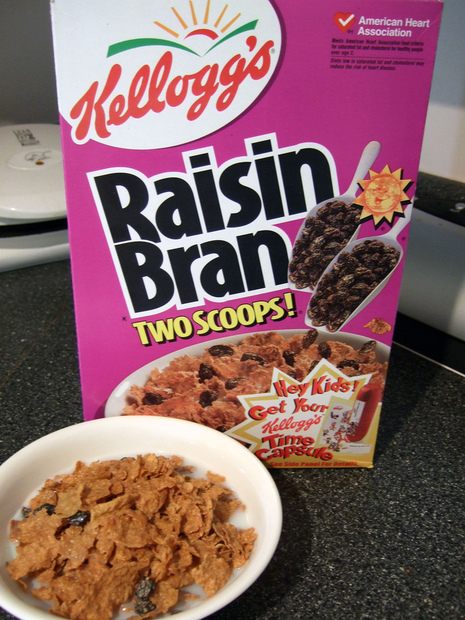 The classic, delicious balance of crispy, wheat bran flakes with delectably sweet raisins never ceases to make morning amazing. Plus, it's a good source of potassium.