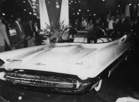 Lincoln Futura Concept Car That Became The Batmobile Is Revealed