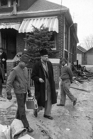 Malcolm X House Burned Down